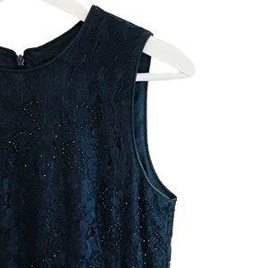 EUC Vintage Rimini Lace Beaded Long Evening Gown